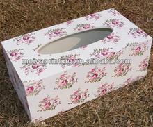 2014 Refillable tissue paper box/napkin cardboard box