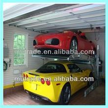 2 Legs Tilting Two Column Hydraulic Garage 2 Car parking