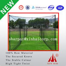 Nylon/PA6/Polyester Knotless Baseball Nets Sports Net Manufacturer