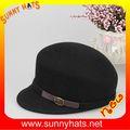 100% de fieltro de lana sombrero steampunk para venta al por mayor, de moda ivy caps57cm en la acción