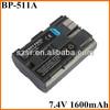 Genuine camera battery BP-511A for Canon EOS 50D 5D 30D 40D 300D