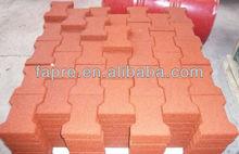 Best sales playground rubber paving bricks floor mats