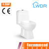 white color one piece german toilet W9014