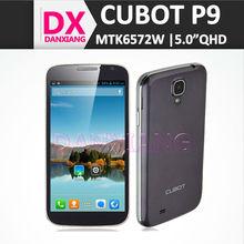Whosale China Cheap Mobile Phone 5.0inch qHD Screen Cubot P9 Smartphone