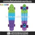 22x6 polegadas penny skate, skate de plástico