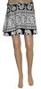 Christmas Lastest Young Girls Fashion Wrap Block Print Short Lovely Skirt