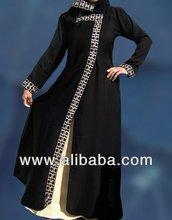 Dubai Jilbab inner patch abaya fashion