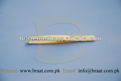 Braat 3D tweezers slanted for eyebrow hair plucking