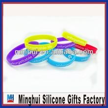 2014 silicone allergy bracelet