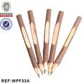 interwell wpf33a natural presente caneta reciclada de artesanato em madeira