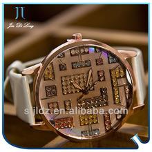 2013 Beautiful Stone watch bezel insert Decorated Women Watches watch bezel insert