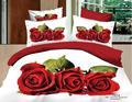 100% cotton+3d bedding+wedding floral+40s 133*72 printed+bedding reattiva set