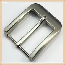 35mm zinc-alloy antique silver fashion metal plain pin belt buckle, belt accessory