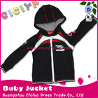 Cool cotton knitting baby boy hoody jacket