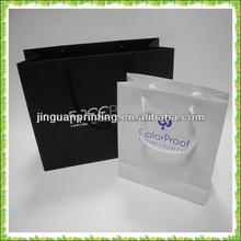 garment paper packaging bag printing service / apparel packaging bag