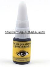 China qingdao stars colors glue eyelash wholesale strong & darkness