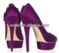popular design sexy high heel beautiful women shoes wholesale footwear PJ2736