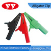 red balck 4mm socket crocodile clip