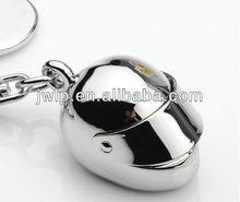 creative metal motorbike helmet zine alloy key ring chain