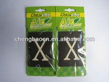 """Paper Air Freshener for Car /"""" X"""" letter shape paper air freshener for car,bedroom,smoking room"""