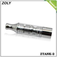 Newest wax atomizer Ztank-2 airflow adjustable vaporizer smoking pipe
