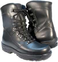Half-height combat boots