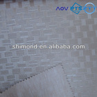 New bamboo weaving design Emboss PVC Leather For Bag and for Decoration