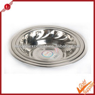Stainless Steel Dinner Plate & Dishes