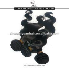 ZSY China top 10 hair manufacturer virgin malaysian remy hair