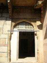 Sandstone Arch Door Frame