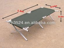 aluminum military folding cot