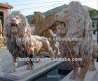big stone lion statue