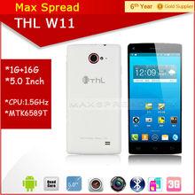 In Stock! MTK6589T Quad Core 1.5GHz 1920*1080 13MP 1GB RAM 16GB ROM THL W11 5.0 Inch FHD Screen cellphone