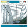 Point-Fixing Glass Curtain Wall/ Spider Wall/ Curtain Wall for skylights