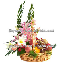 Wholesale empty birthday's wicker gift or flower basket From Manufacturer