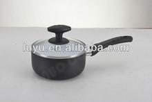 Aluminium powder paint two pouring mouth sauce pan
