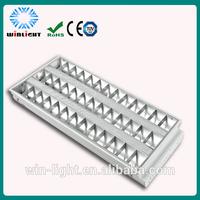 1200mm 2*36W Grid fluorescent ceiling lighting t8 led light fixtures