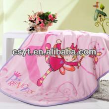 wholesale soft cartoon flannel coral children blanket