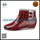 PVC Rain Boots printed color