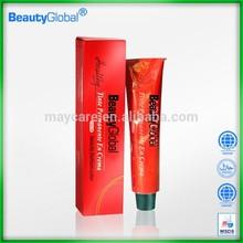 best selling&Anti-allergy sample for indian hair semi-permanent hair dye