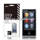 For iPod nano 7 screen protector film oem/odm(Anti-Glare)