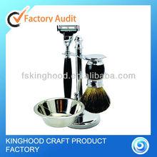 New item stainless steel shaving kit gift set for men