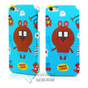 Full printing glossy mobile cover for apple iphone 5 5s case