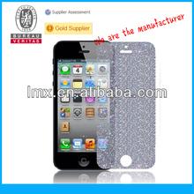 Blue diamond screen protector for iPhone 5 oem/odm (Diamond)