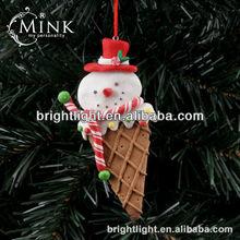 lovely polymer clay christmas ice cream