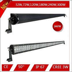 China Manufacturers good quality best price 300w 50 inch car off road light bars