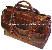 ADATB - 0010 multi-purpose duffel bag / big capacity pu leather travel bag / trendy duffel bags for traveling new arrival