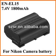 EN-EL15 for nikon D7000 Digital lithium battery disposal