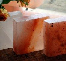 Himalayan Salt Block - 5x5x1.5 Inch Salt Plate used as Tableware