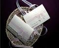 بطاقات دعوات زفاف العروس مع اسم وتاريخ الزفاف، bridegroom's ويمكن طباعتها على